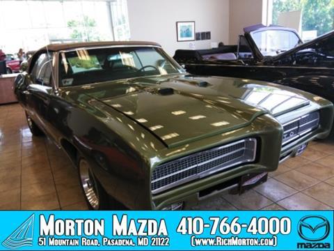 1969 Pontiac GTO for sale in Pasadena, MD