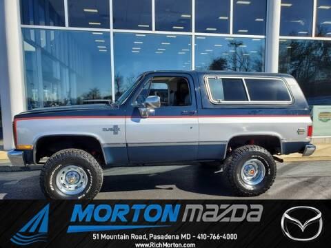Used 1985 Chevrolet Blazer For Sale Carsforsale Com