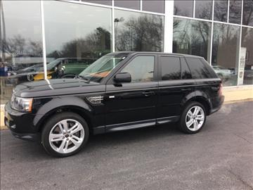 2013 Land Rover Range Rover Sport for sale in Pasadena, MD