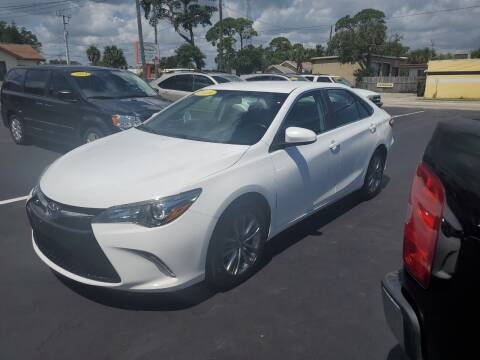 2016 Toyota Camry for sale at Riviera Auto Sales South in Daytona Beach FL