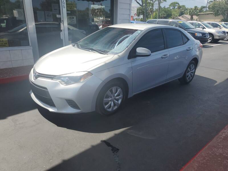 2015 Toyota Corolla for sale at Riviera Auto Sales South in Daytona Beach FL