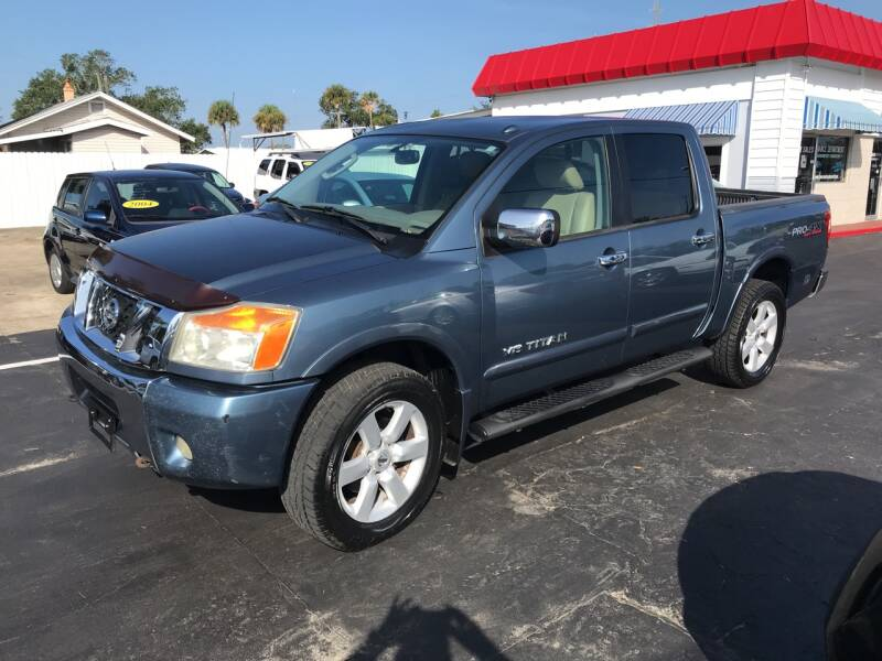 2010 Nissan Titan for sale at Riviera Auto Sales South in Daytona Beach FL
