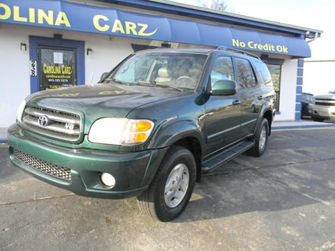 2002 Toyota Sequoia For Sale In Rock Hill, SC