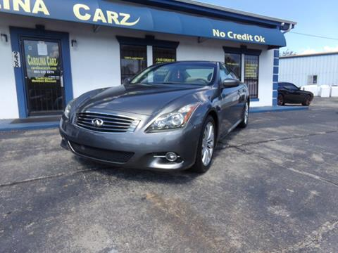 Infiniti G37 Coupe For Sale In South Carolina Carsforsale