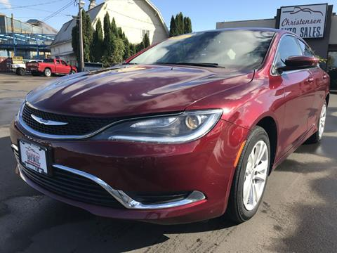 2016 Chrysler 200 for sale in Mcminnville, OR