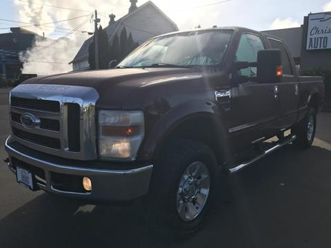 2008 Ford F-250 Super Duty for sale in Mcminnville, OR