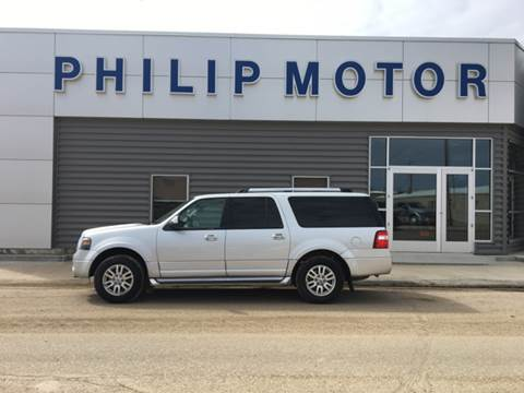 2014 Ford Expedition EL for sale at Philip Motor Inc in Philip SD