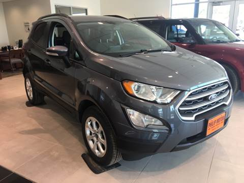 2018 Ford EcoSport for sale at Philip Motor Inc in Philip SD
