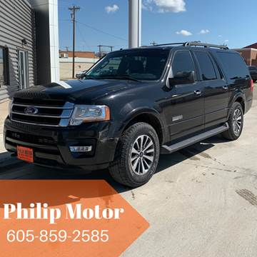 2015 Ford Expedition EL for sale at Philip Motor Inc in Philip SD