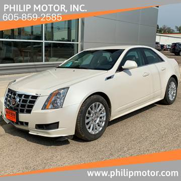 2013 Cadillac CTS for sale at Philip Motor Inc in Philip SD