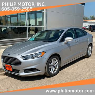 2015 Ford Fusion for sale at Philip Motor Inc in Philip SD