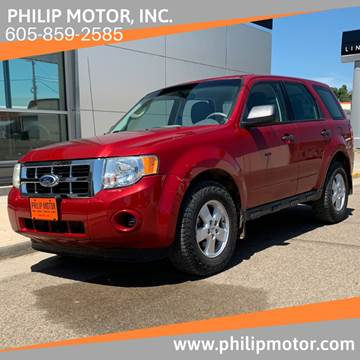 2010 Ford Escape for sale at Philip Motor Inc in Philip SD