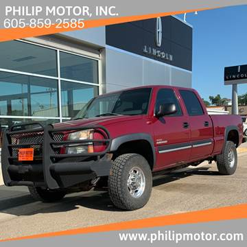 2004 Chevrolet Silverado 2500HD for sale at Philip Motor Inc in Philip SD