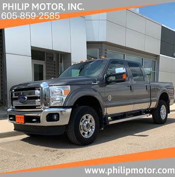 2014 Ford F-350 Super Duty for sale at Philip Motor Inc in Philip SD