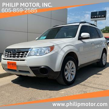 2013 Subaru Forester for sale at Philip Motor Inc in Philip SD