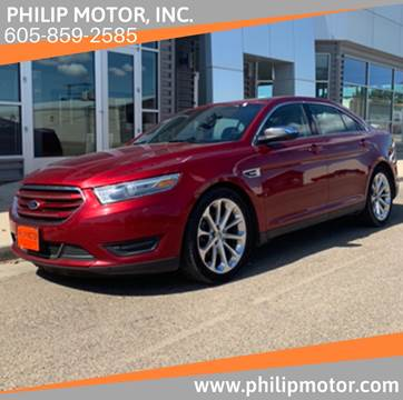 2013 Ford Taurus for sale at Philip Motor Inc in Philip SD