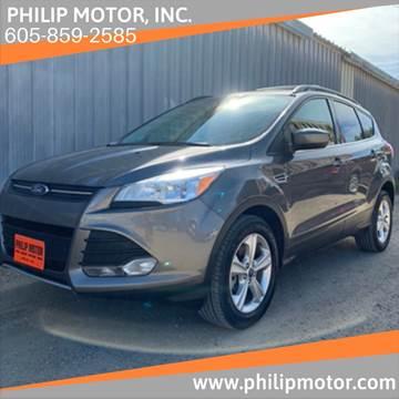 2013 Ford Escape for sale at Philip Motor Inc in Philip SD