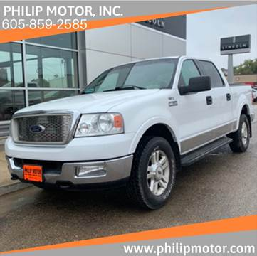 2004 Ford F-150 for sale at Philip Motor Inc in Philip SD