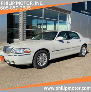 2004 Lincoln Town Car for sale at Philip Motor Inc in Philip SD