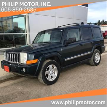 2006 Jeep Commander for sale at Philip Motor Inc in Philip SD