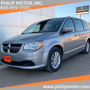 2016 Dodge Grand Caravan for sale at Philip Motor Inc in Philip SD