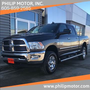 2017 RAM Ram Pickup 2500 for sale at Philip Motor Inc in Philip SD