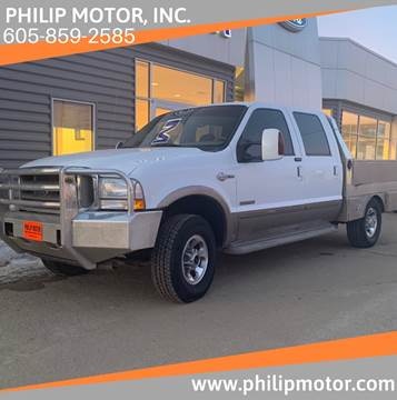 2004 Ford F-250 Super Duty for sale at Philip Motor Inc in Philip SD