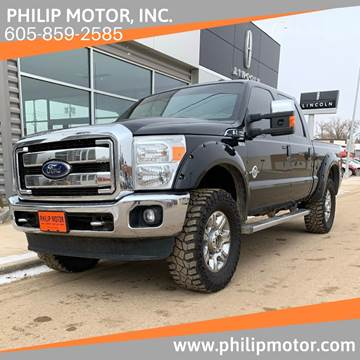 2016 Ford F-350 Super Duty for sale at Philip Motor Inc in Philip SD
