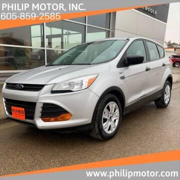 2014 Ford Escape for sale at Philip Motor Inc in Philip SD