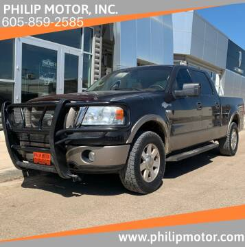 2006 Ford F-150 for sale at Philip Motor Inc in Philip SD