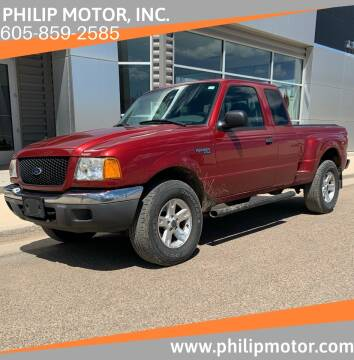 2003 Ford Ranger for sale at Philip Motor Inc in Philip SD