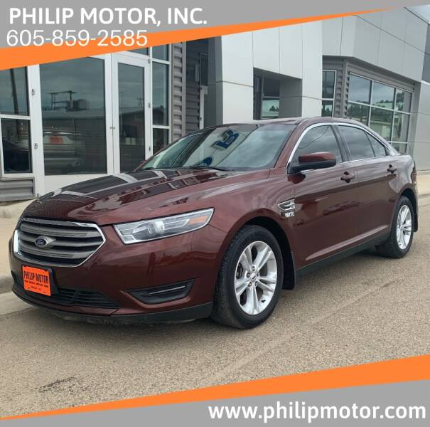 2015 Ford Taurus for sale at Philip Motor Inc in Philip SD