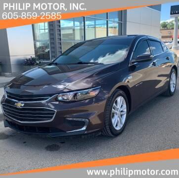 2016 Chevrolet Malibu for sale at Philip Motor Inc in Philip SD