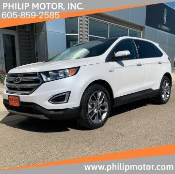 2016 Ford Edge for sale at Philip Motor Inc in Philip SD