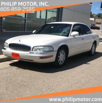 2002 Buick Park Avenue for sale at Philip Motor Inc in Philip SD