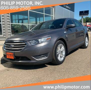 2014 Ford Taurus for sale at Philip Motor Inc in Philip SD