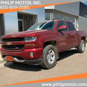2018 Chevrolet Silverado 1500 for sale at Philip Motor Inc in Philip SD
