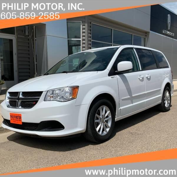 2014 Dodge Grand Caravan for sale at Philip Motor Inc in Philip SD