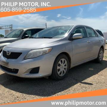 2010 Toyota Corolla for sale at Philip Motor Inc in Philip SD
