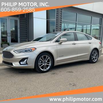 2019 Ford Fusion Hybrid for sale at Philip Motor Inc in Philip SD