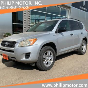 2009 Toyota RAV4 for sale at Philip Motor Inc in Philip SD
