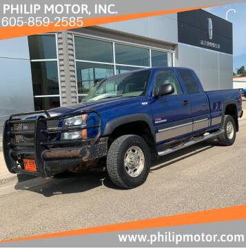 2003 Chevrolet Silverado 2500HD for sale at Philip Motor Inc in Philip SD