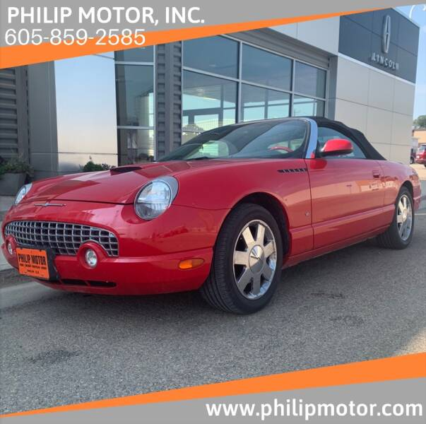 2002 Ford Thunderbird for sale at Philip Motor Inc in Philip SD
