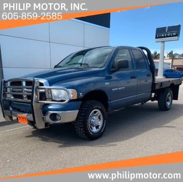 2004 Dodge Ram Pickup 2500 for sale at Philip Motor Inc in Philip SD