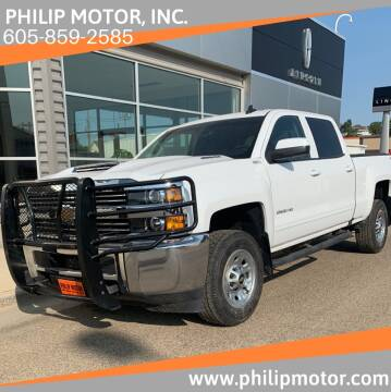 2017 Chevrolet Silverado 2500HD for sale at Philip Motor Inc in Philip SD