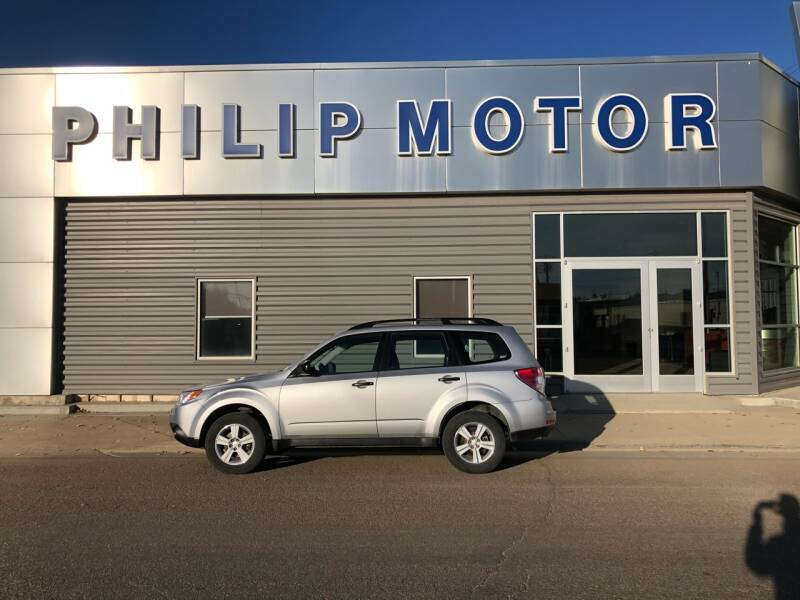 2010 Subaru Forester for sale at Philip Motor Inc in Philip SD