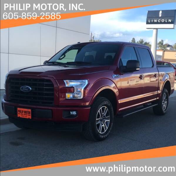 2017 Ford F-150 for sale at Philip Motor Inc in Philip SD