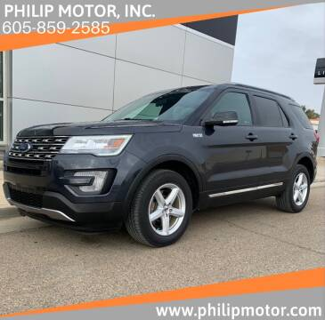 2017 Ford Explorer for sale at Philip Motor Inc in Philip SD