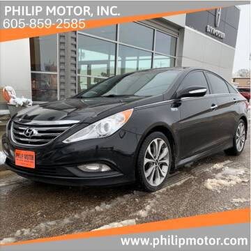 2014 Hyundai Sonata for sale at Philip Motor Inc in Philip SD