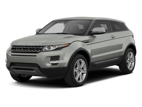 2013 Land Rover Range Rover Evoque Coupe for sale in Sanford, FL